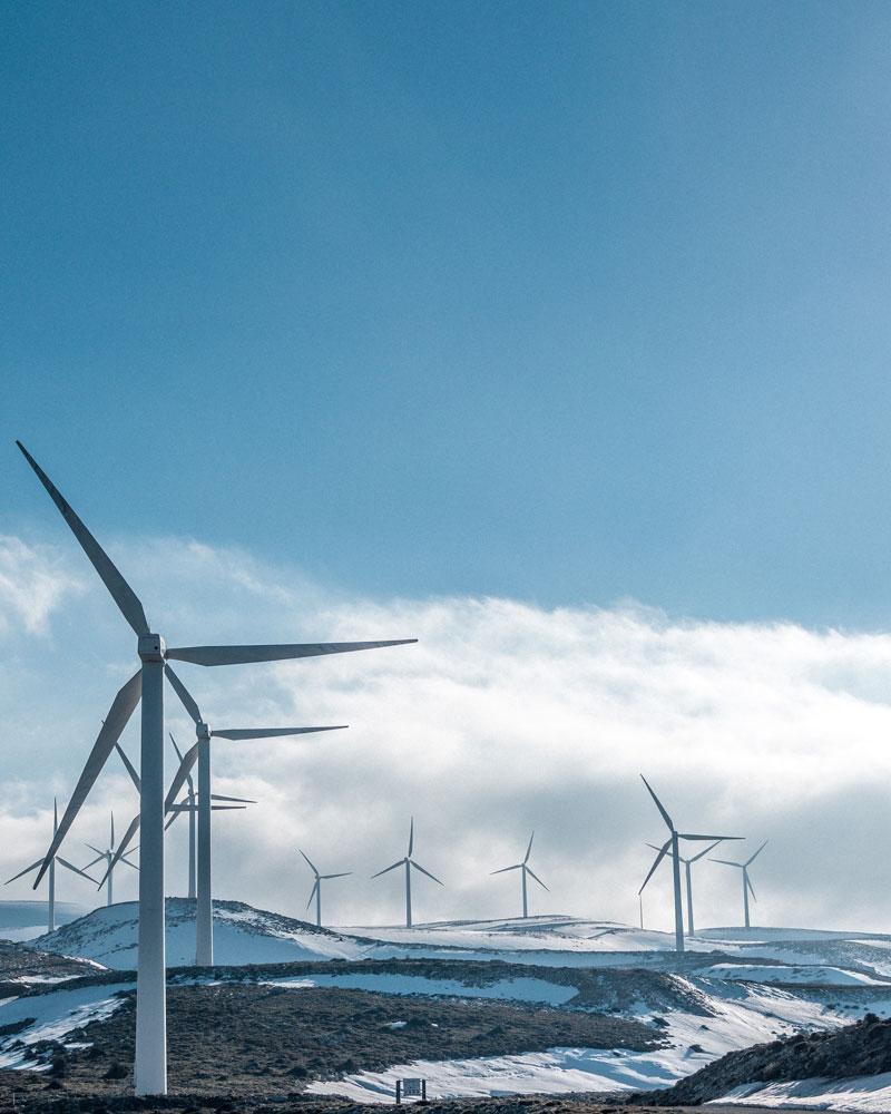 Capital Nostrum Energía Eólica construcción